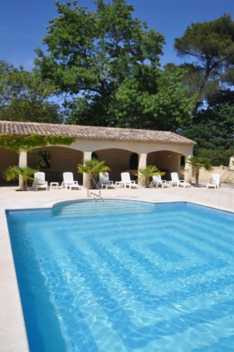 Moulin de la Roque - secluded swimming pool for guests