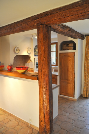 Moulin de la Roque, Noves, Provence, villa Cigales, kitchen