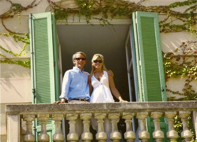 Moulin de la Roque, Noves, Provence - Baron and Baroness Guy Fallon - owners